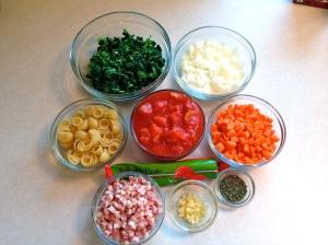 Some Ribollita ingredients