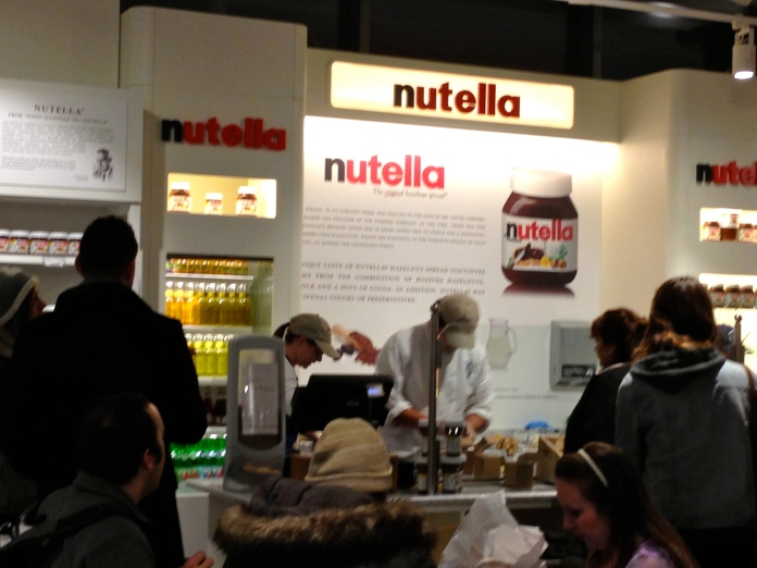 Nutella Bar in Eataly