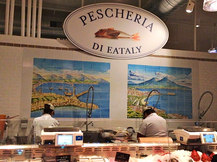 Seafood Market at Eataly