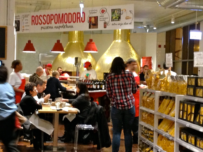 Pizza Eataly Style