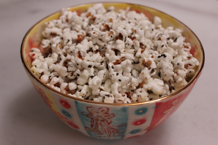 Homemade Popcorn with Herbes de Provence