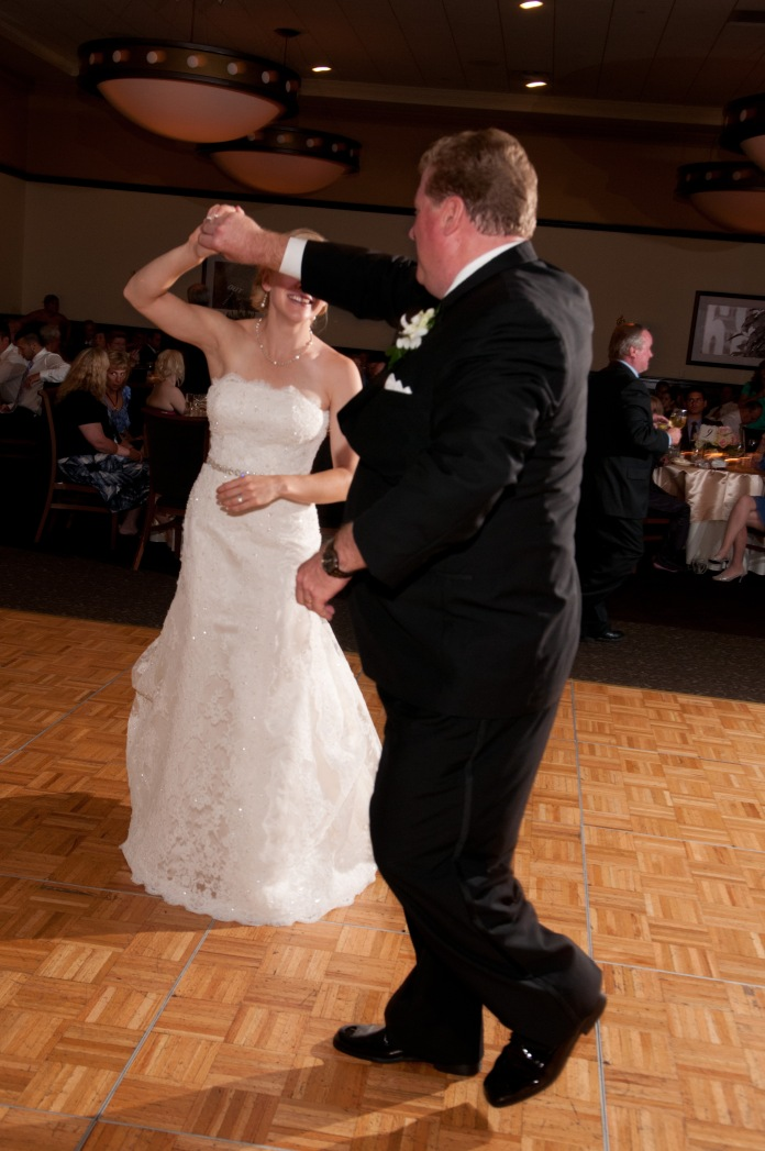 Dancing with Dad at my Wedding