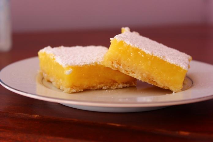 Perfect Lemon Bars www.morewinelesswhines.com