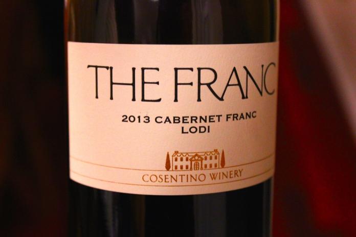 Great Lasagna Wine Pairing: The Franc: 2013 Cabernet Franc www.morewinelesswhines.com