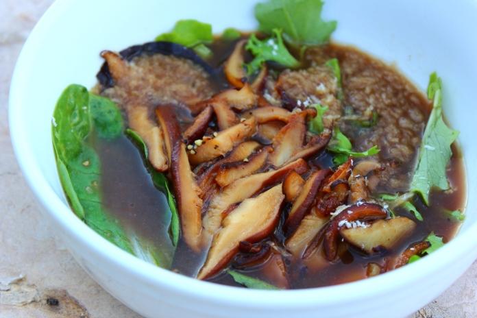 Mushroom Soup        www.morewinelesswhines.com